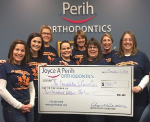 PerihSmile raises money for The Foundation for Cancer Care!